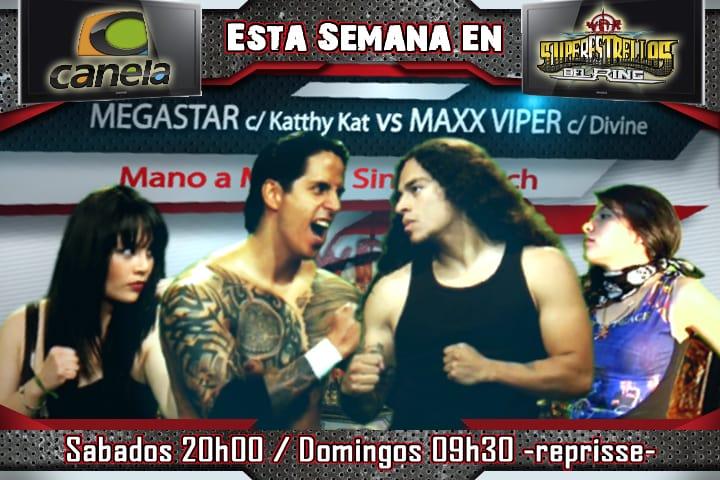 -c-Maxx Viper c/Divine vs El Megastar c/Katty Kat