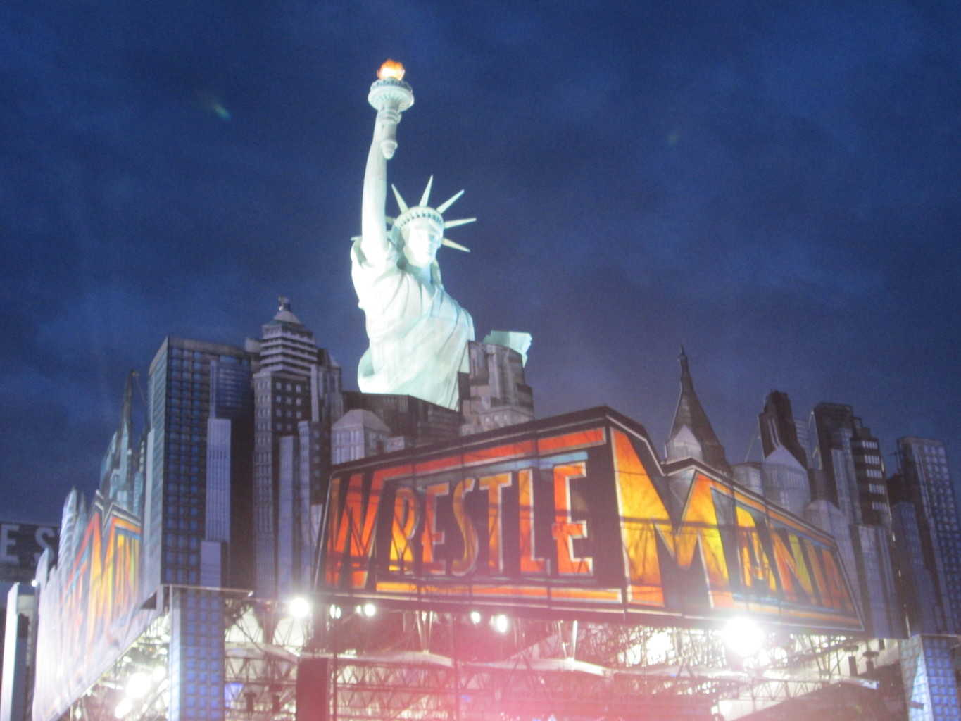 Escenario de Wrestlemania 29 / Photo by Alexa Ruiz - Superluchas