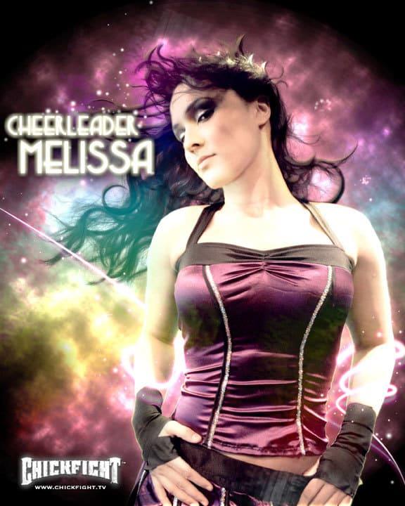 Cheerleader Melissa / Chick Fight