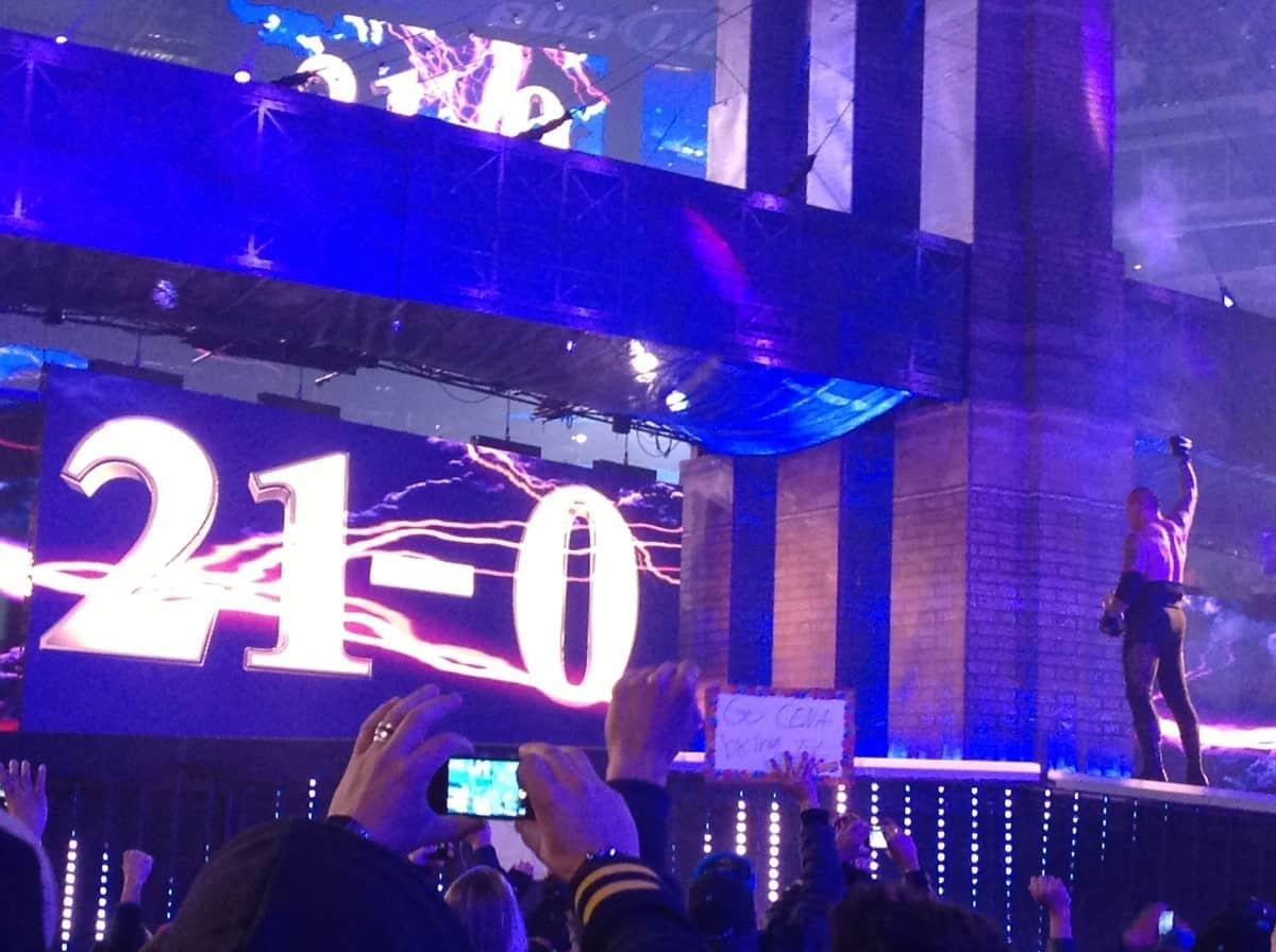 #MejoresLuchasdel2013: The Undertaker vs CM Punk en #Wrestlemania29 21-0 8