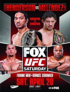 UFC on FOX 7: Henderson vs. Melendez - Cobertura y Resultados -Benson Henderson venció a Gilbert Melendez vía decisión dividida y retiene el titulo ligero 8