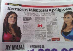 """Ivelisse Vélez y Alissa Flash en """"Primera Hora"""" de Puerto Rico"""