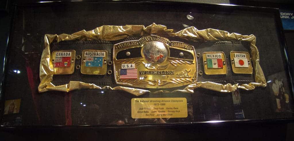 NWA World Heavyweight Championship belt / Photo by Simon - Creative Commons License
