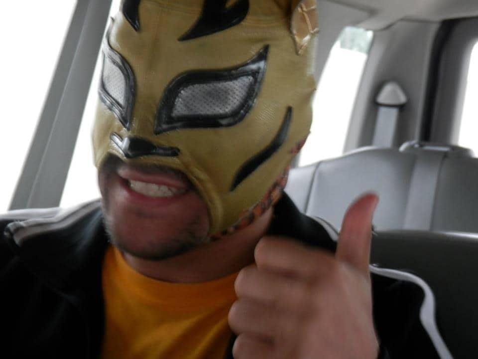 """Lince Dorado en Puerto Rico, listo para WWL """"Idols of Wrestling"""" / 20 de abril de 2013 / Photo by WWL Mundial en Facebook"""