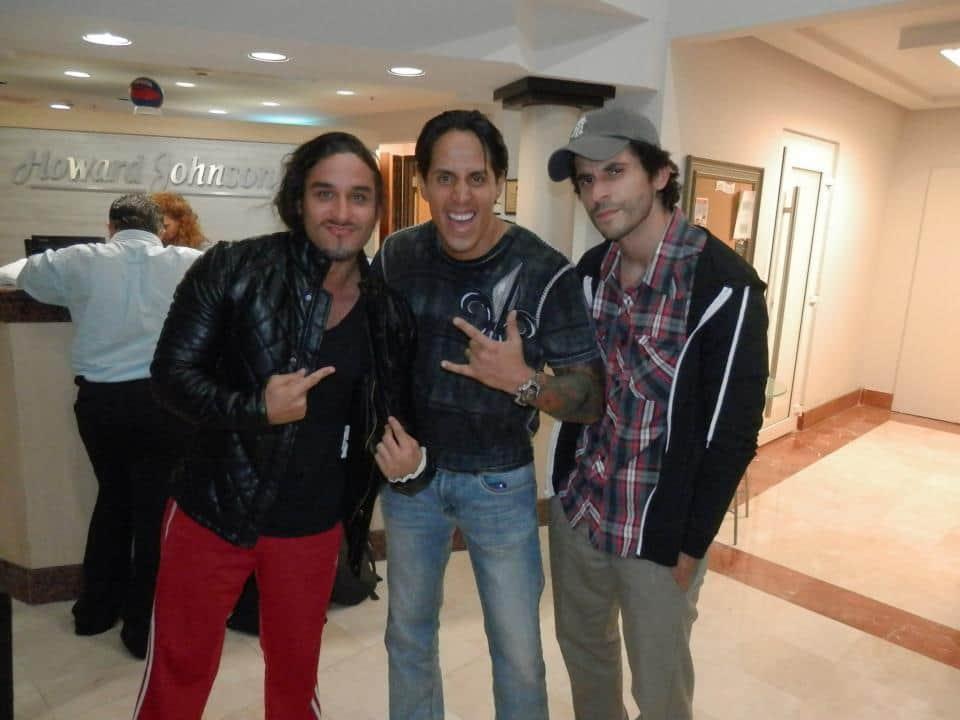 """Panama Jack Daniels, El Magastar y Nick Romano en Puerto Rico, listos para WWL """"Idols of Wrestling"""" / 20 de abril de 2013 / Photo by WWL Mundial en Facebook"""