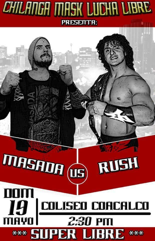 Rush vs Masada en Coacalco/ imagen Chilanga Mask en facebook