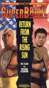 Ric Flair vs Tatsumi Fujinami, campeón vs campeón