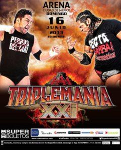 Poster de Triplemania XXI