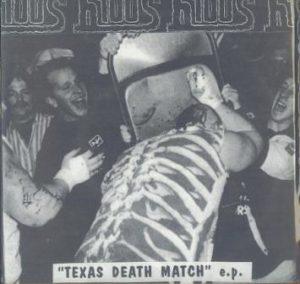 Portada de un álbum inspirada en el Texas Death Match