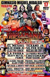 #AAASinLímite: ¿Quién será el luchador sorpresa que se presentará en @Lucha_Libre_AAA este 17/Mayo/13 en Puebla? 12