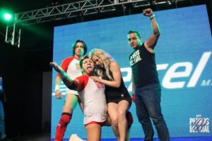 """""""Vamos por la cabellera de @Cibernetico_AAA (en #TriplemaníaXXI)!!..."""": @PerrosdelMalMx 1"""