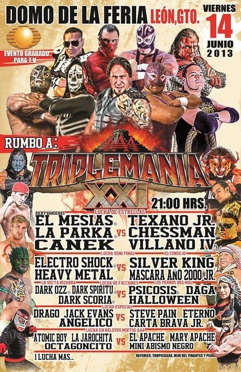 AAA Sin Límite: última parada antes de Triplemanía XXI / Domo de la Feria de León, Gto. - 14 de junio de 2013 / Image by www.luchalibreaa.com