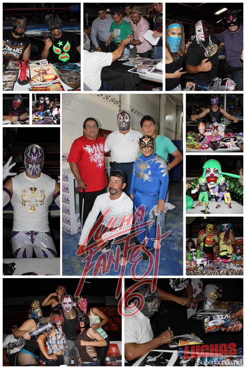 Gráfica del Lucha Fan Fest VI: Luchando por un Amigo: Lásser / Photo by: Rostro Oculto