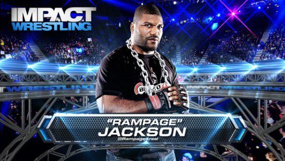 """Quinton """"Rampage"""" Jackson en TNA // Imagen cortesia de ImpactWrestling.com para Superluchas"""