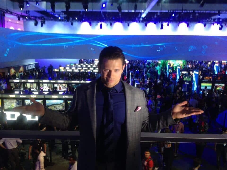 The Miz en la E3 // Imagen por Twitter @mikethemiz