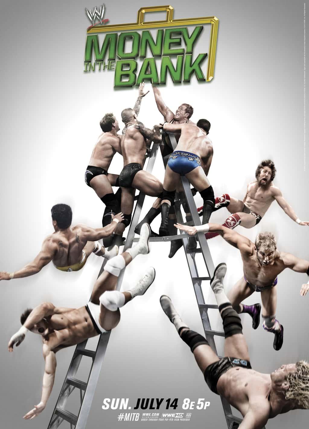 WWE Money in the Bank #MITB (Cobertura y resultados 14 de julio de 2013) - RVD regresa a la acción - Randy Orton gana el MiTB 1