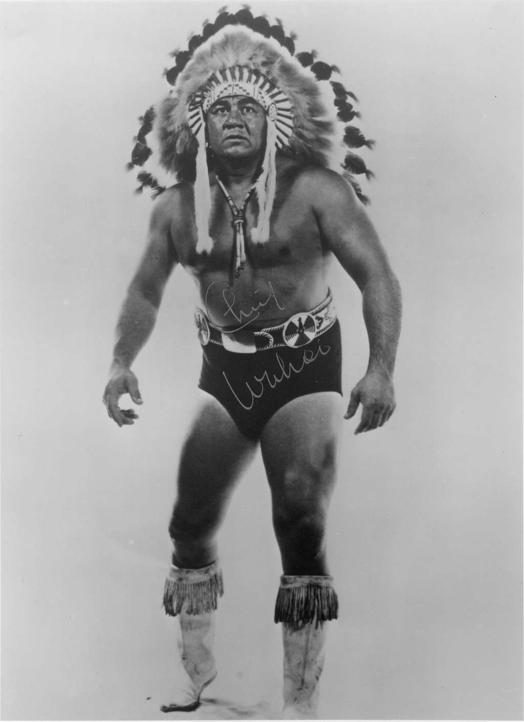 """Wahoo"" McDaniel / LegendsCollectibles.net"