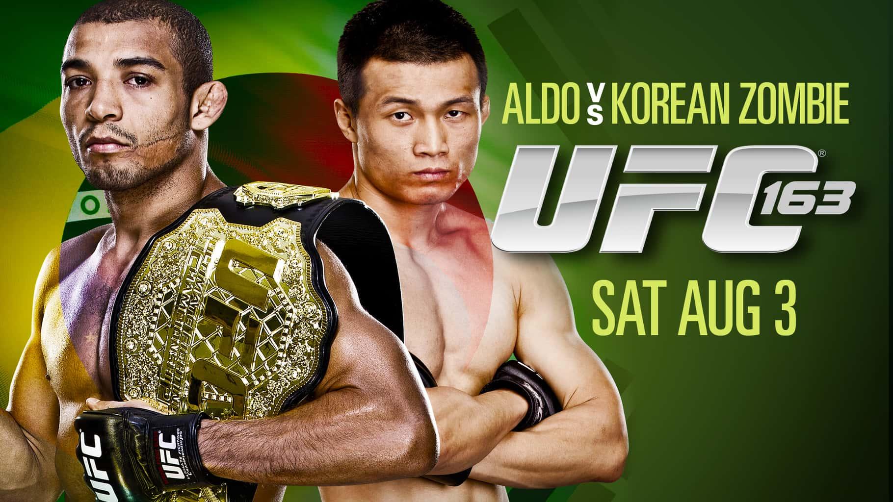 UFC 163: Aldo vs Korean Zombie - Cobertura y resultados en vivo - Jose Aldo vence a Korean Zombie por TKO  y retiene su cinturón de peso pluma 8