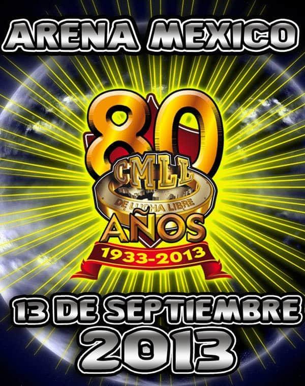 80 Aniversario del CMLL / cmllgaceta.wordpress.com
