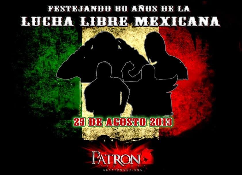 Lucha Libre Mexicana en El Rancho Night Club (1465 Jerime Ave. 2nd Flo Fl Bronx NY 10452 - 25/8/13)