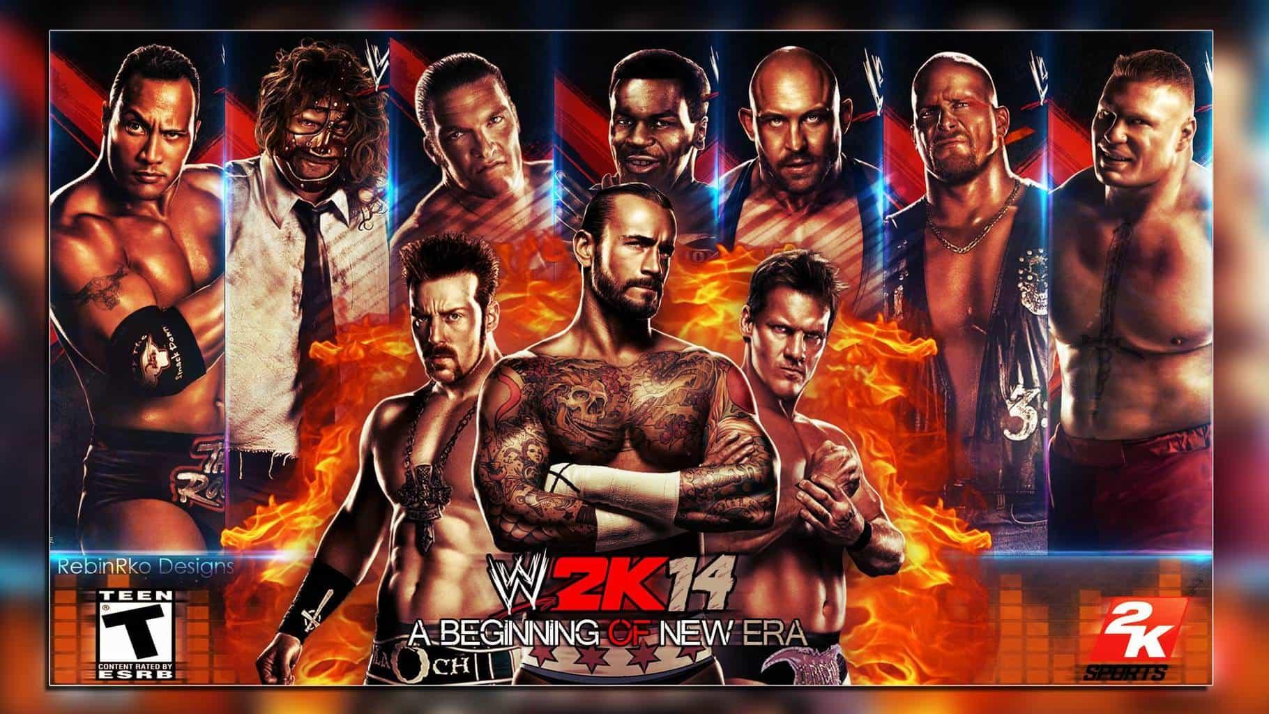 WWE 2k14 - Wallpaper