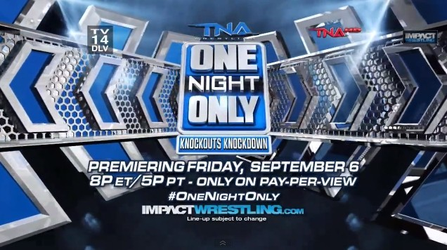 "TNA One Night Only ""Knockouts Knockdown"""