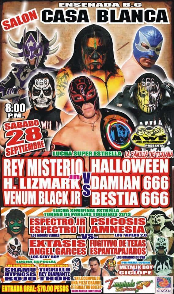 Función de Lucha Libre en Ensenada el próximo 28 de Septiembre 5