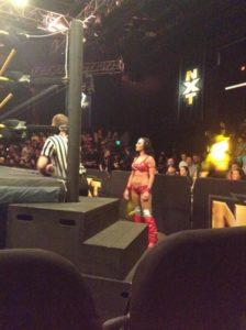 Santana Garrett en WWE NXT - twitter @nerdyjordy