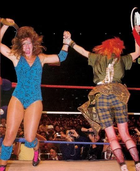 Cinco grandes luchas femeniles en la historia de WrestleMania 1