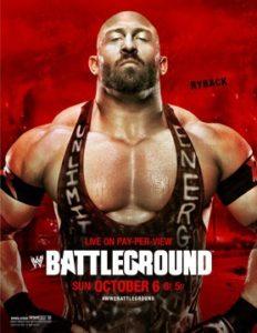 Cartelera Oficial de Battleground 2013. Randy Orton vs. Daniel Bryan again. 2