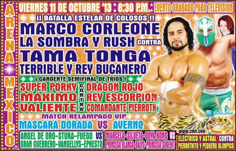 ¡Tama Tonga se presenta en la Arena México! 19