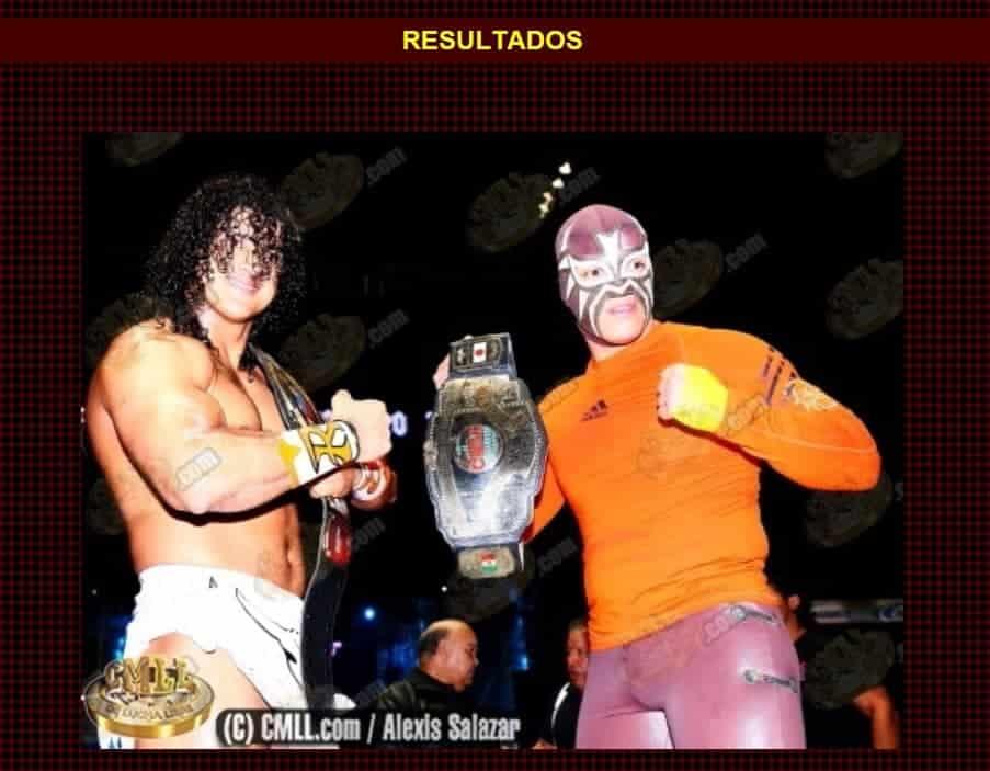 """""""Rush y La Máscara son decretados Campeones Mundiales de Parejas del CMLL"""": @CMLL_OFICIAL 18"""