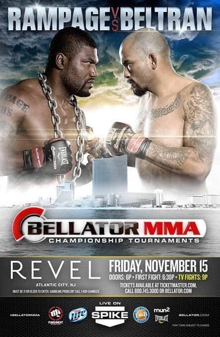 Rampage Jackson Will Face Joey Beltran At Bellator 108 On November