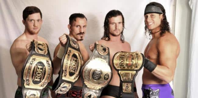 Campeones de ROH / ROHwrestling.com