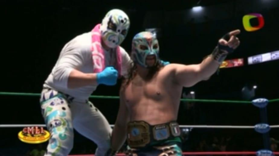 ¡Titán… nuevo Campeón Nacional Welter! – @CMLL_OFICIAL 1