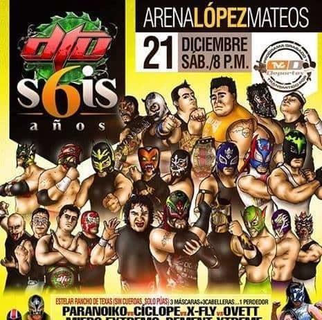 DTU: Aniversario Ultraviolento - s6is años (Arena López Mateos - 21/12/13)