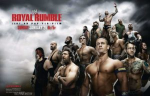 Poster de Royal Rumble 2014