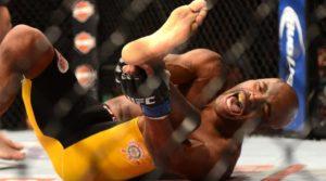 La anti deportiva reacción de la esquina de Chris Weidman al momento de la lesión de Anderson Silva 5