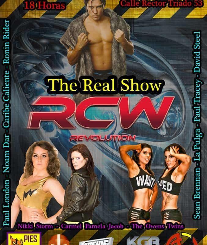 """Lucha Libre en España: RCW presenta """"Rising Stars"""" el próximo sábado 4 de octubre. Leah Owens vs Hikaru Shida vs Audrey Bride por el campeonato femenino 3"""