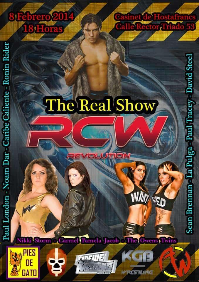 """Lucha Libre en España: RCW presenta """"Rising Stars"""" el próximo sábado 4 de octubre. Leah Owens vs Hikaru Shida vs Audrey Bride por el campeonato femenino 1"""