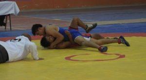 Los luchadores de Chimalhuacán listos para la Olimpiada Nacional. 10