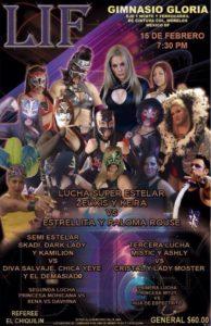 LIF: Lucha Internacional Femenil invade el gimnasio Gloria – Lucha Súper Estrella Keira y Zeuxis vs Estrellita y Paloma Rouse  6