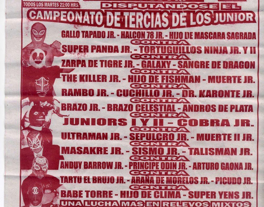 Arena Querétaro: Máscara Sagrada Jr., Halcón 78 Jr. y Gallo Tapado Jr., NUEVOS CAMPEONES DE TERCIAS DE LOS JUNIORS – Picudo Jr., Brazo Celestial, entre otros 5