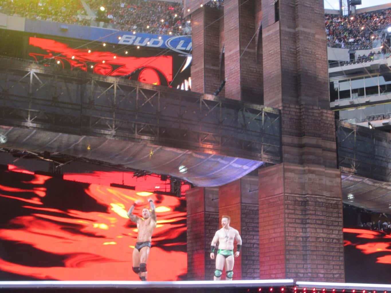 Randy Orton y Sheamus en Wrestlemania 29/ imagen by Alex Ruiz