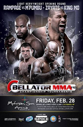 Bellator Mma Returns This Friday With Rampage Jackson Vs